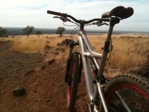bike in upper park