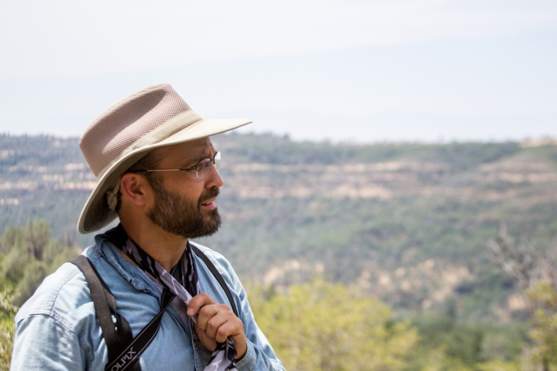 Jon Aull, outdoor education coordinator, plans and leads field trips for K–12 students.