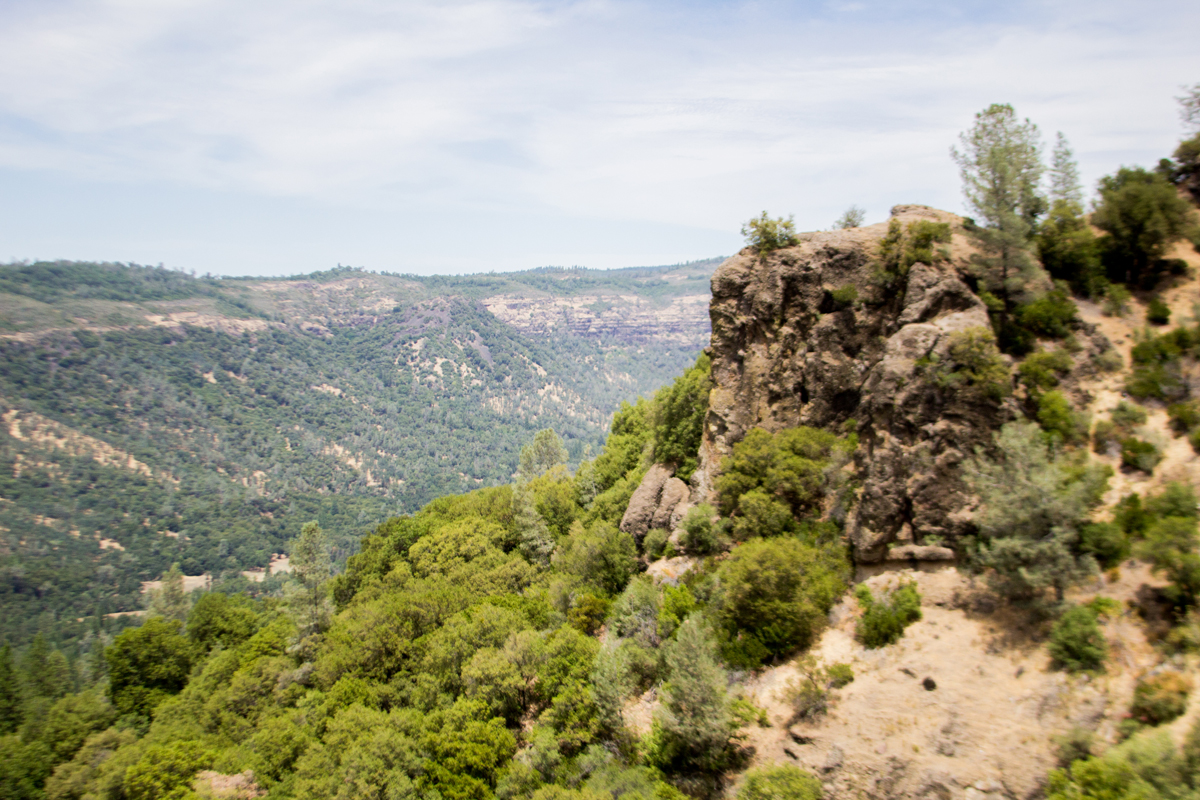 Perspective Point overlooks the entirety of the Big Chico Creek Ecological Reserve.